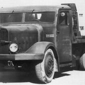 French heavy truck tank carrier