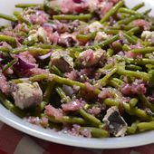 Salade haricots verts saumon cookeo |