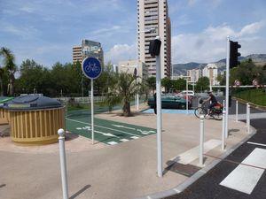 Toulon: Véloroute du Littoral