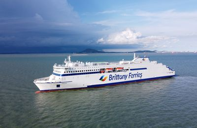 Shipping – Brittany Ferries inaugure le Galicia, plus grand navire de la flotte