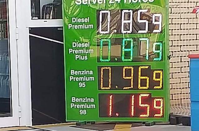 Les prix des carburants à Empuria