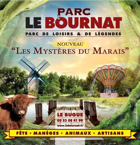 le « Parc de loisirs et de légendes » Le Bournat, innove avec une nouvelle attraction