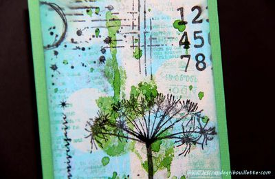 Carte anniversaire_Mixed Media