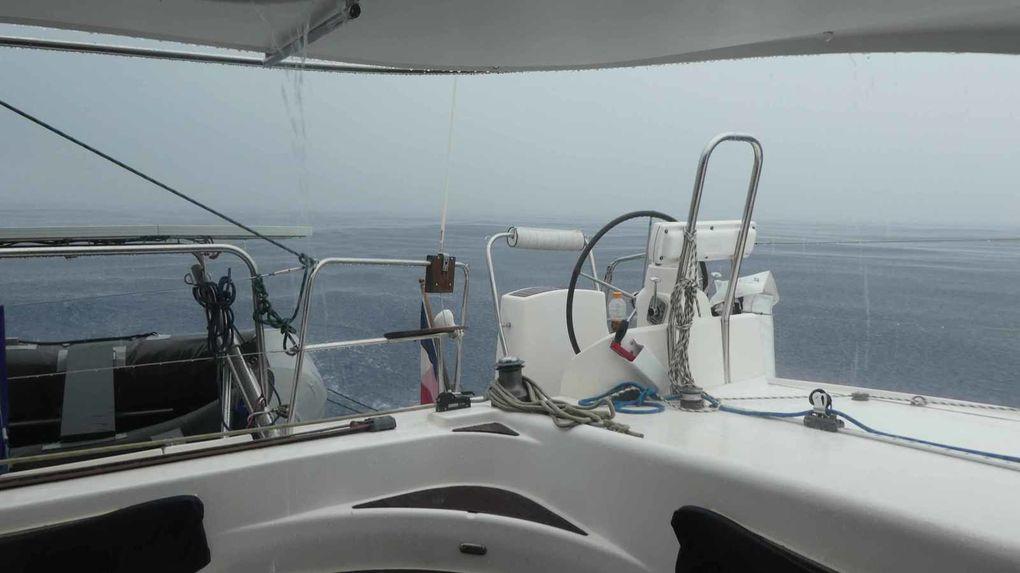 Un retour  humide vers Puerto  Lindo