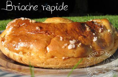 Brioche rapide à la Crème (sans beurre)