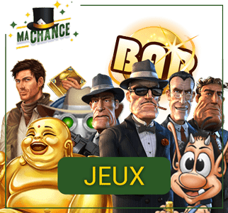 jeux de casino Mascot Games, Bet2Tech et Gamatron sur Ma Chance Casino