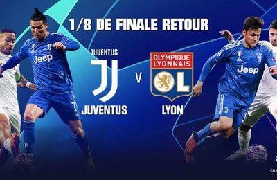 Juventus / Lyon (Champions League) en direct ce vendredi sur RMC Sport 1 !