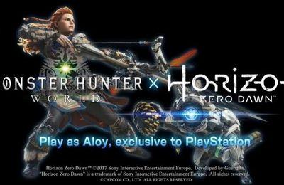 Monster Hunter: World : le contenu de la bêta et du DLC Horizon Zero Dawn dévoilés !