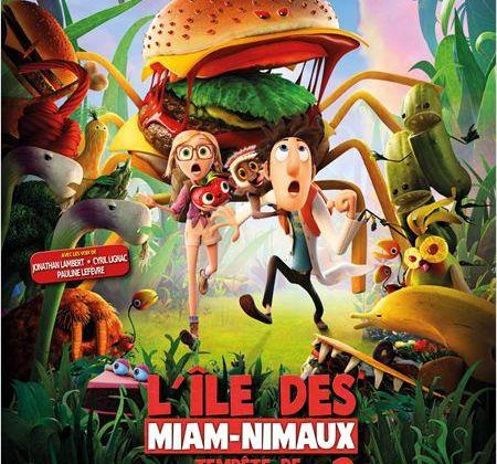 Critique Ciné : L'île des Miam-Nimaux, Tempête de Boulettes Géantes 2