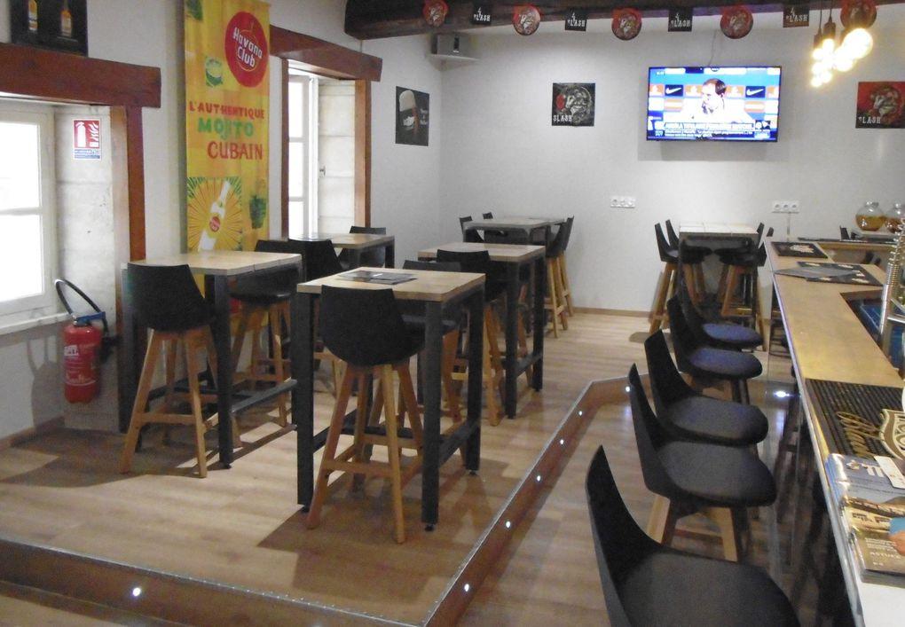 """Nous étions côté """" Bar Brasserie"""" et si maintenant nous passions dans son épicerie fine......"""