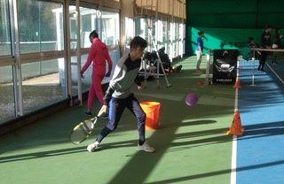 EREA La Plaine participe à l'événement Eysines défie le handicap en Tennis