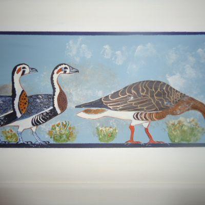 les Oies de Meïdoum (Egypte)