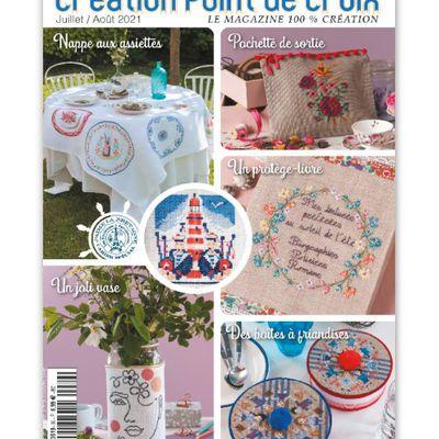 CREATION POINT DE CROIX N°89 JUILLET / AOUT 2021