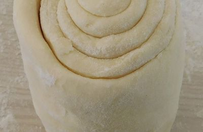 Pâte feuilletée Express méthode Escargot réalisée au CookExpert