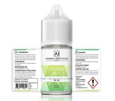 Test - Eliquide - DIY - Arôme N°4 Tarte au Citron Meringuée gamme Aroma Institute de chez J Well