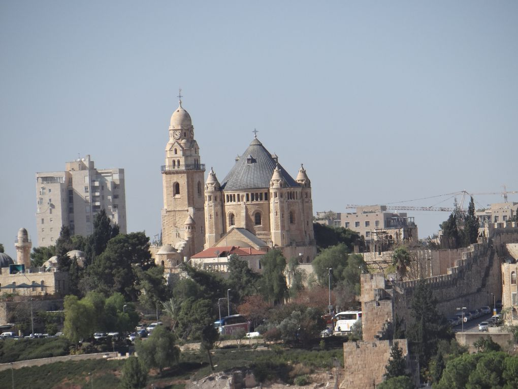Vue de Jérusalem (photos NB Israël nov.2018)