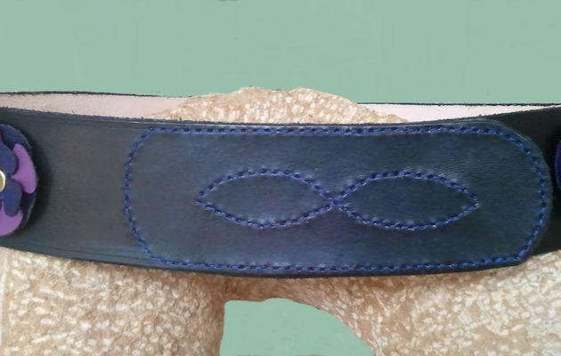 273 - ceinture avec scratch velcro
