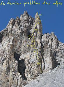 """les statues """" Le dernier pb des Alpes"""""""
