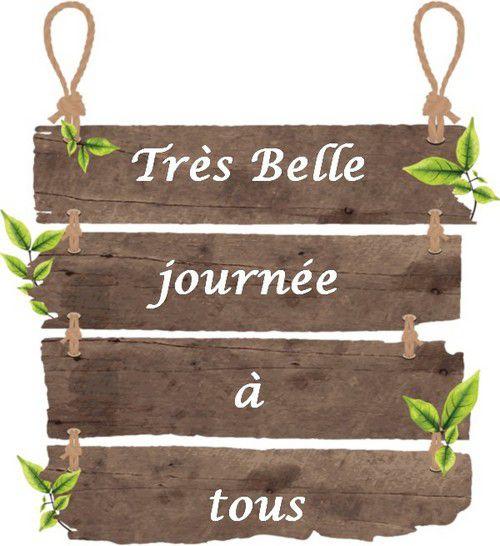 """ma table """" le sous bois """"magique""""..."""