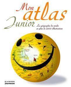 Mon atlas junior - La Martinière jeunesse -