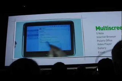 Samsung Galaxy Note 10.1 Tablet Lets You Run Two Apps at Same Time on Same Screen