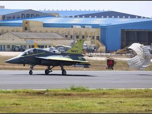 India's LCA Navy Prototype 2 Flies