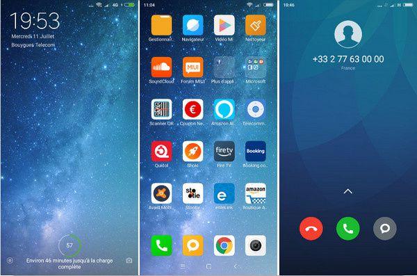 quelques captures d'écran du Xiaomi RedMi S2 Dark Grey 32 Go @ Tests et Bons Plans