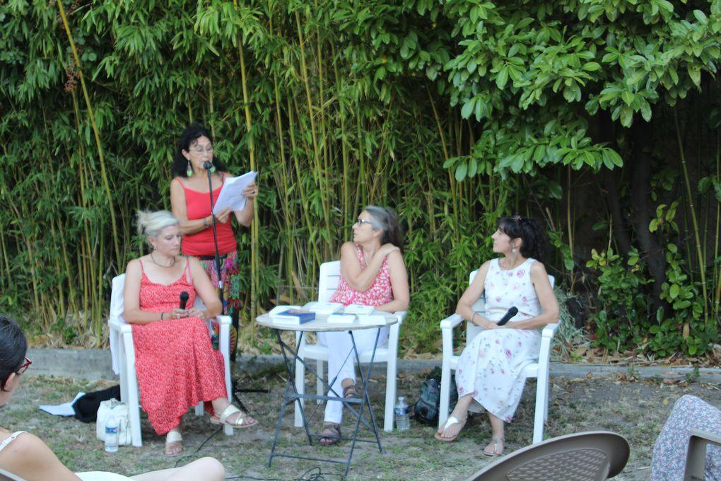 Laurence Creton et Myriam Saligari reçues dans les jardins d'Elan Sud [vidéo]