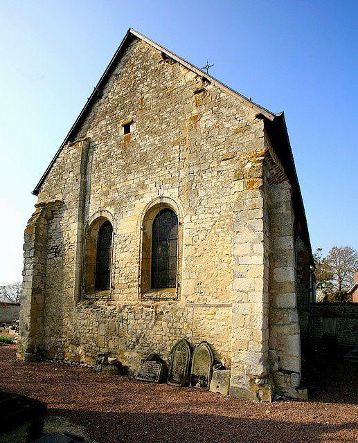 Diaporama église fortifiée de Clermont les Fermes