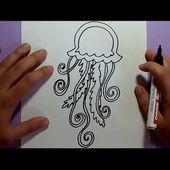 Como dibujar una medusa paso a paso 2   How to draw a medusa 2