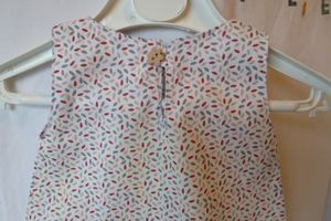 Robe chasuble taille 1 an