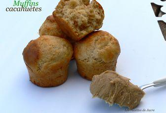 minis muffins au beurre de cacahuètes