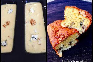 Cake roquefort et noix