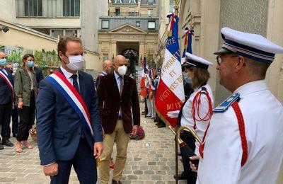 25 août 2020: Commémoration de la libération de Paris en mairie du IX ème arrdt.