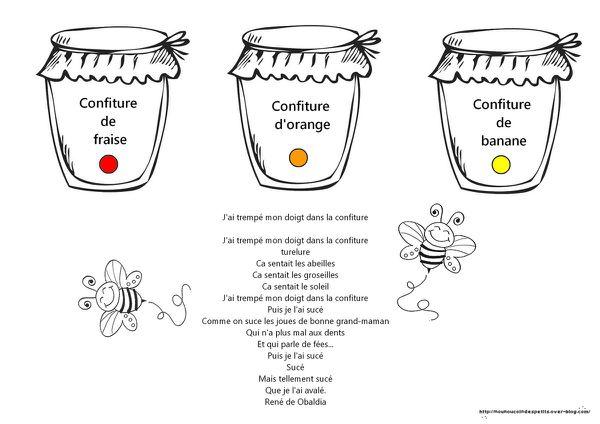 """.. Chandeleur .. """" pots de confiture pour la chandeleur """""""
