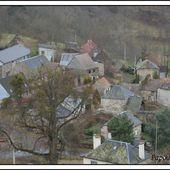 Les hameaux du Cantal: Escrouzet - L'Auvergne Vue par Papou Poustache