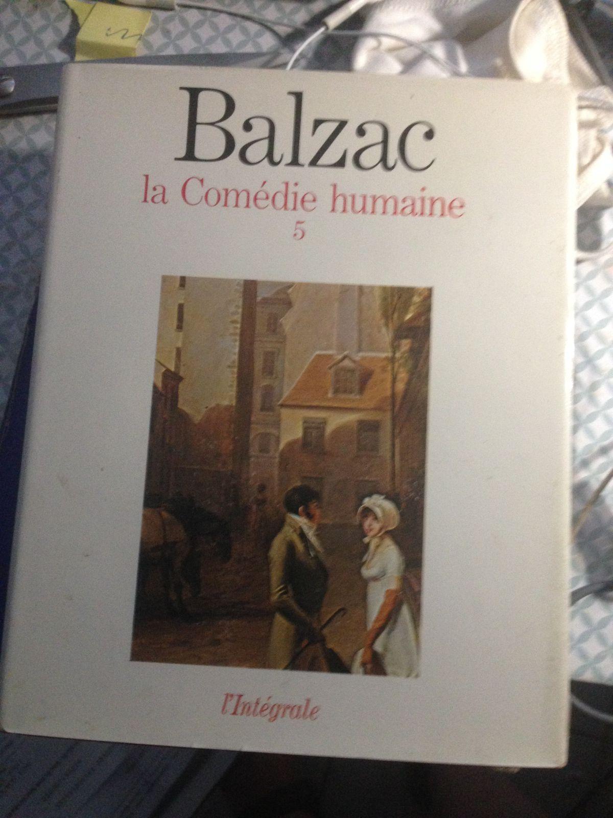BALZAC EN 7 VOLUMES COMPLET ..LA Comédie Humaine  edition du seuil de 1966 ..comme neuf  prix 120€ les 7 volumes ...port 6€