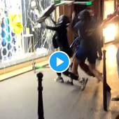 Le compte Twitter d'un syndicat de commissaires de police suspendu pour avoir révélé qu'1/3 des racailles interpellées dimanche soir sur les Champs-Élysées étaient des clandestins mineurs...
