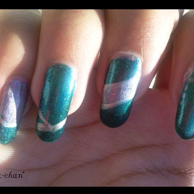 Nail art Duochrome
