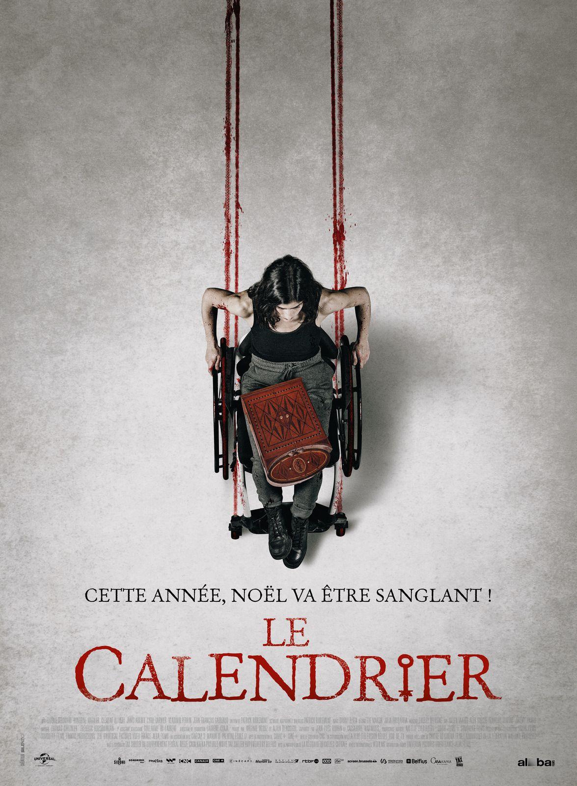 LE CALENDRIER Cette année, Noël va être sanglant…au Cinéma le 2 Décembre 2020