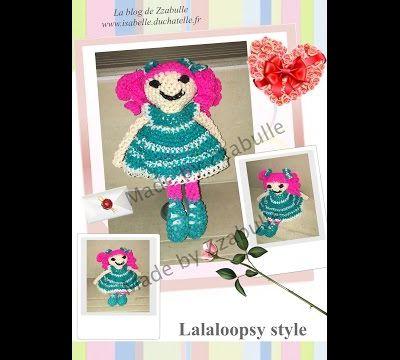 Tuto en vidéo Lalaloopsy loomigurumi
