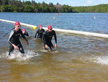Le triathlon et le lac de Chassenon un retour gagnant !
