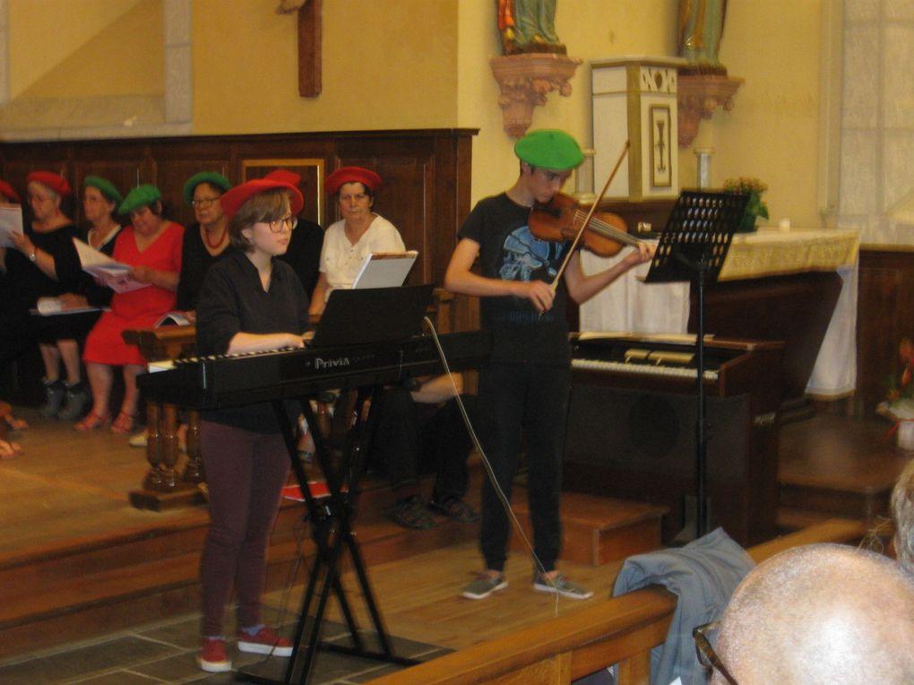 Midi, déjeuner au soleil. 20h30, concert à l'église de Loudenvielle. 23h, dernière soirée, conviviale, festive et musicale !