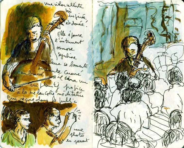 Une sélection d'images du concert