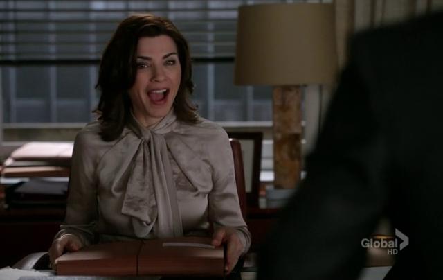 Critiques Séries : The Good Wife. Saison 4. Episode 14.