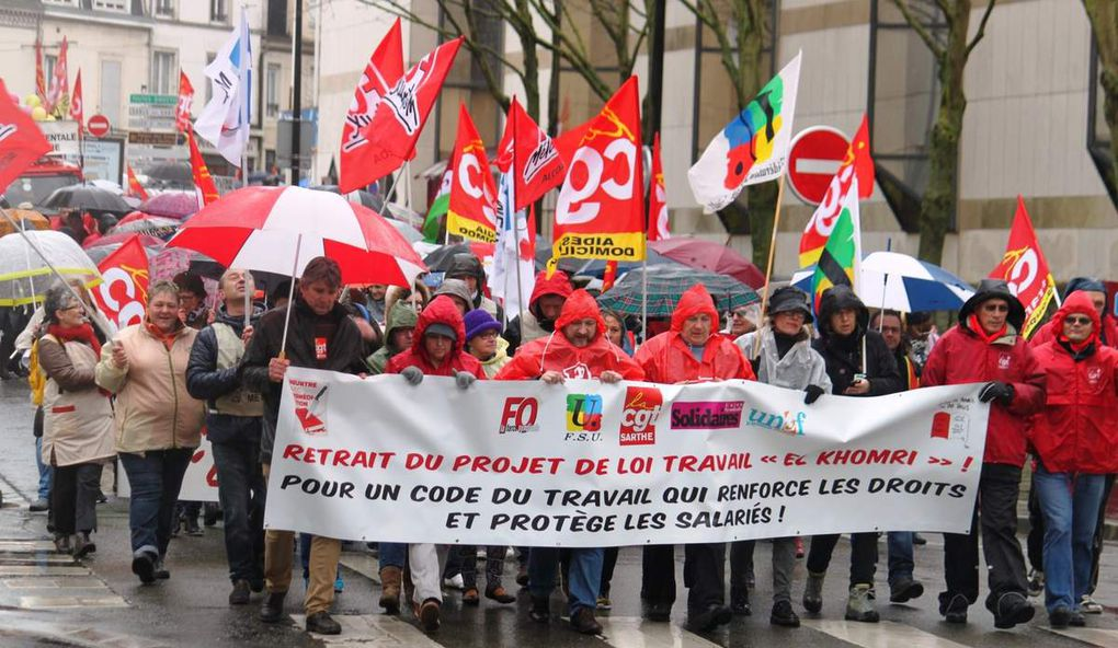 Manifestation unitaire interprofessionnelle du 31 mars