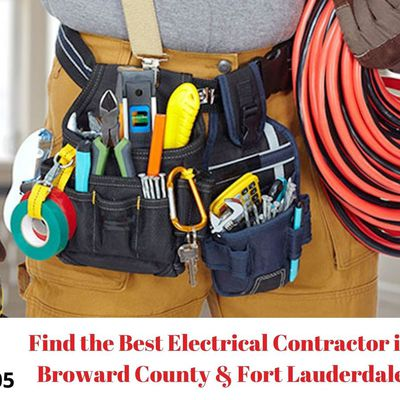 How to Find the Best Electrical Contractor in Broward County & Fort Lauderdale