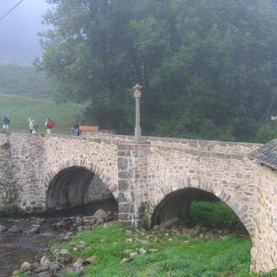 Chemin de Saint Jacques St Chély d'Aubrac->Espalion, 22 km.