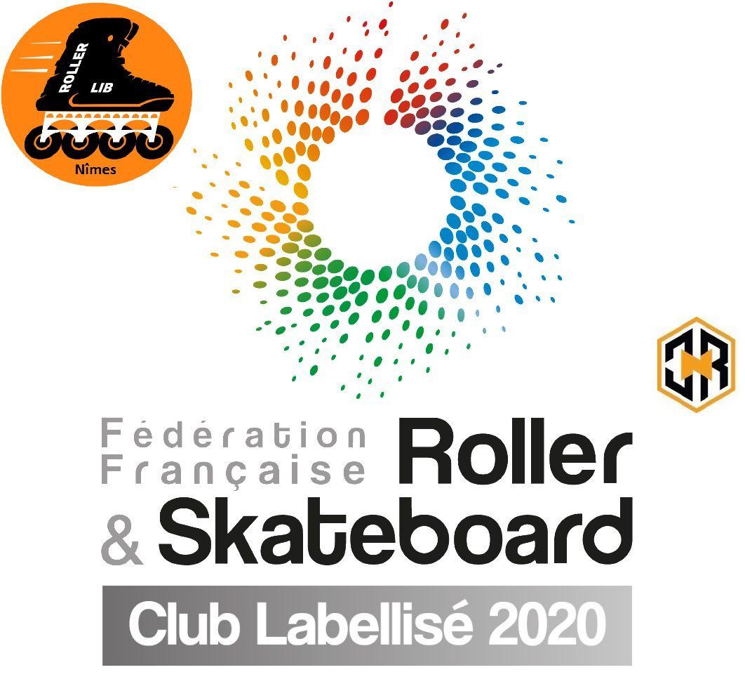 Roller Lib, CLIC N ROLL, Nîmes, club sport, plein air, école patinage, stage, cours