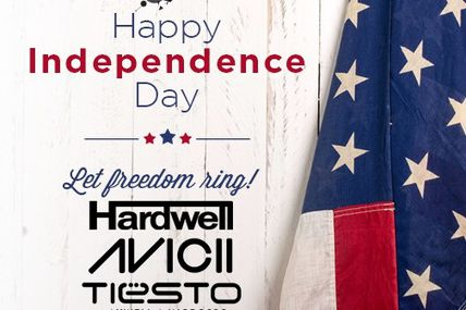 Tiësto guest mix for Evolution Radio - IndepenDance Day - july 04, 2015